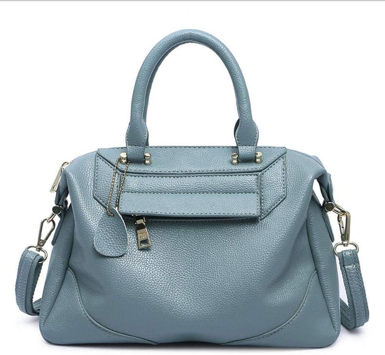 b0b0cfba590f5 Defect Damen Handtaschen Handtaschen Handtaschen kissenf ouml rmig  zusammengesetzte Rindsleder einzigen schr auml gen Leder Schultertasche  B07H29KJY1 Zu ...