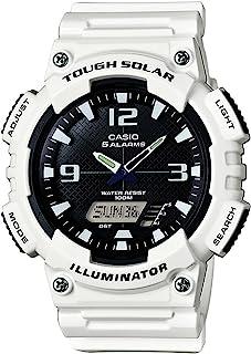 Men's Tough (Solar Powered) Stainless Steel Quartz Watch...
