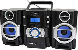 Naxa NPB-429 Portable CD Player W/Aux in PLL FM Radio USB Input and Remote Consumer Electronics