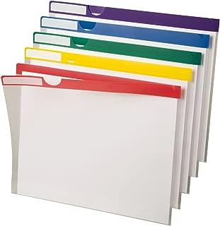 Pendaflex Poly Index Folders, 10 Pack, Letter, Assorted (50981EE)