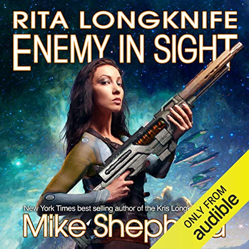 Rita Longknife - Enemy in Sight audiobook cover art