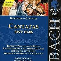 Cantatas Bwv 83-86