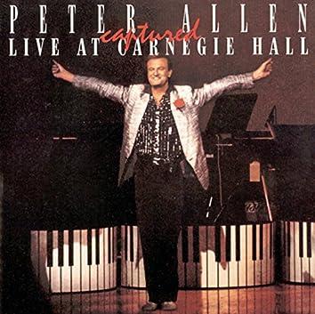 Peter Allen Captured Live at Carnegie Hall