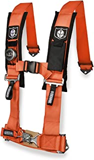 Pro Armor A114230OR Orange 3 Inches 4-Point Harness 3
