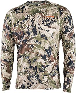 SITKA Men's Hunting Core Lightweight Crew Long Sleeve Shirt