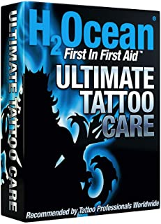 The H2Ocean Ultimate Tattoo Aftercare Kit (Soap/Cream/Foam)