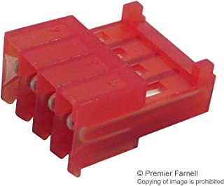 3-643813-4 - Wire-To-Board Connector, 2.54 mm, 4 Contacts, Receptacle, MTA-100 Series, IDC/IDT, 1 Rows, (Pack of 100) (3-643813-4)