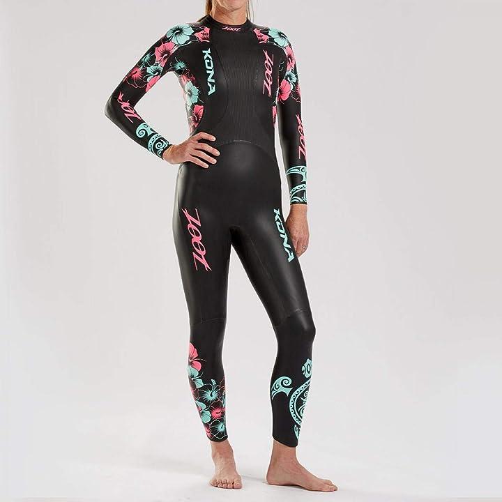 Muta da donna con borsa in neoprene yamamoto, ideale per il triathlon e il nuoto in acque libere dimensione Z2007005011