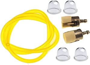 OuyFilters 2ft Brandstoflijn met Brandstoffilter Primer Lamp voor GX22 GX25 GX31 GX35 HLT422 ULT425 UMK431 UMK435 HHB25 HH...