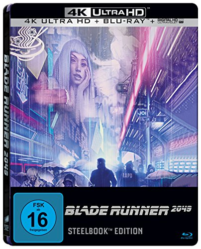 Blade Runner 2049 (Limited 4K Ultra HD Steelbook Edition) [Blu-ray]