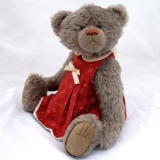 Beth - Teddy Bear Brown Steiff Schulte Mohair Artist Collectable OOAK 15 inches