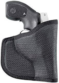 DESANTIS The Nemesis Pocket Holster Ambidextrous Black J-Frm/LCR/SP101 Nylon