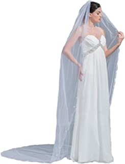 Best champagne veil with crystals Reviews