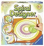 Ravensburger Spiral-Designer, Zeichnen lernen für Kinder ab 6 Jahren, Kreatives Zeichen-Set mit Mandala-Schablone für farbenfrohe Spiralbilder und Mandalas