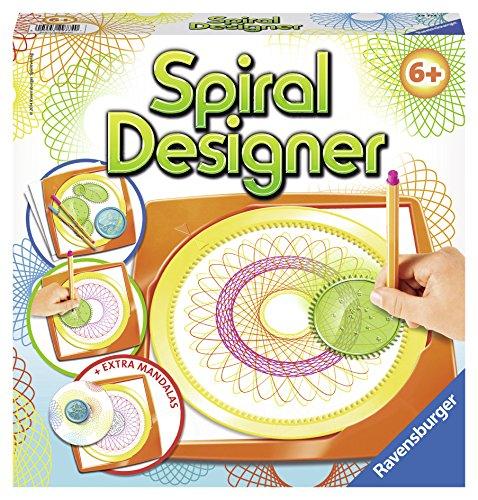 Ravensburger Spiral-Designer, Zeichnen lernen für Kinder ab 6 Jahren, Kreatives Zeichen-Set für farbenfrohe Spiralbilder und Mandalas