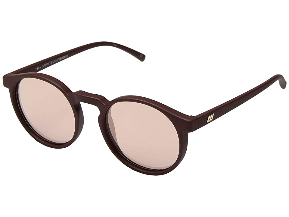 Le Specs Teen Spirit Deux (Matte Shiraz) Fashion Sunglasses