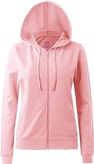 Round Neck Long Sleeve Full Zip Hoodies for Women (16, S-3X)
