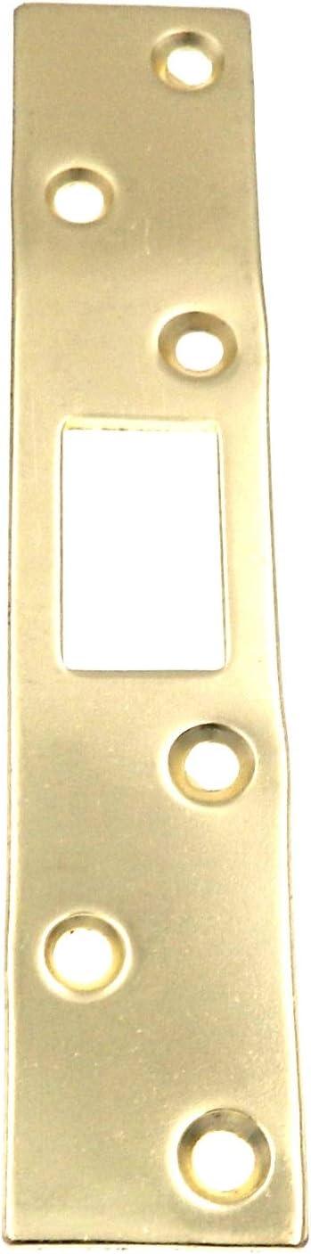 Warwick Max 59% Be super welcome OFF Door Deadbolt Security Strike Plate Polished Reinforcer
