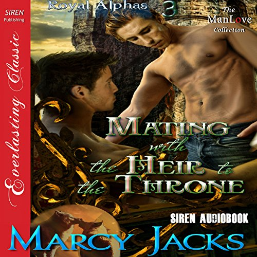 Mating with the Heir to the Throne audiobook cover art