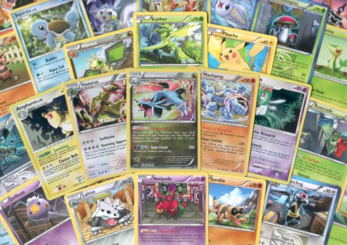 1000 assorted pokemon cards - 3