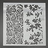 MASUNN Couches Scrapbooking Peinture Pochoirs Estampage Aérographe Modèles Outils Métier-02
