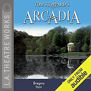 Arcadia                   By:                                                                                                                                 Tom Stoppard                               Narrated by:                                                                                                                                 Kate Burton,                                                                                        Mark Capri,                                                                                        Jennifer Dundas,                   and others                 Length: 2 hrs and 57 mins     223 ratings     Overall 4.6