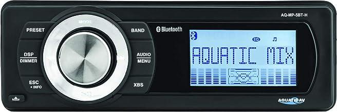 Aquatic AV Bluetooth Mp3 Media Player with AM/FM Radio for Harley-Davidson 1998-2013 Motorcycle Models AQ-MP-5BT-H