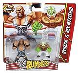 WWE Ryback vs Rey Mysterio Rumblers Figures...