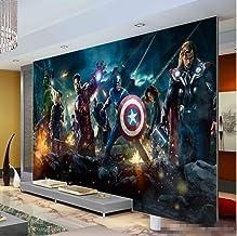 Fondo De Pantalla 3d The Avengers Photo Wallpaper Película Mural De Pared Marvel Heroes Boys Kids Girls Room Decor Dormitorio Cool Home Decoration Ancho 200 cm * Altura 200 cm