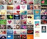 52 cartes postales de mariage, 52semaines (un an), une carte postale pour chaque postale, jeu de mariage, cadeau de mariage, cartes postales, jeu de couple