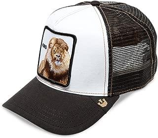 Goorin Brothers Men's Animal Mesh Trucker Cap Hat Snapback (King-Black)