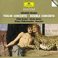 Violin Concerto / Double Concerto by KREMER / MAISKY / VIENNA PHIL ORCH / BERNSTEIN (2008-08-19)