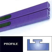 Profile #11 Teflon Slides - 52in. - Purple 1973 Polaris Colt 295 Snowmobile