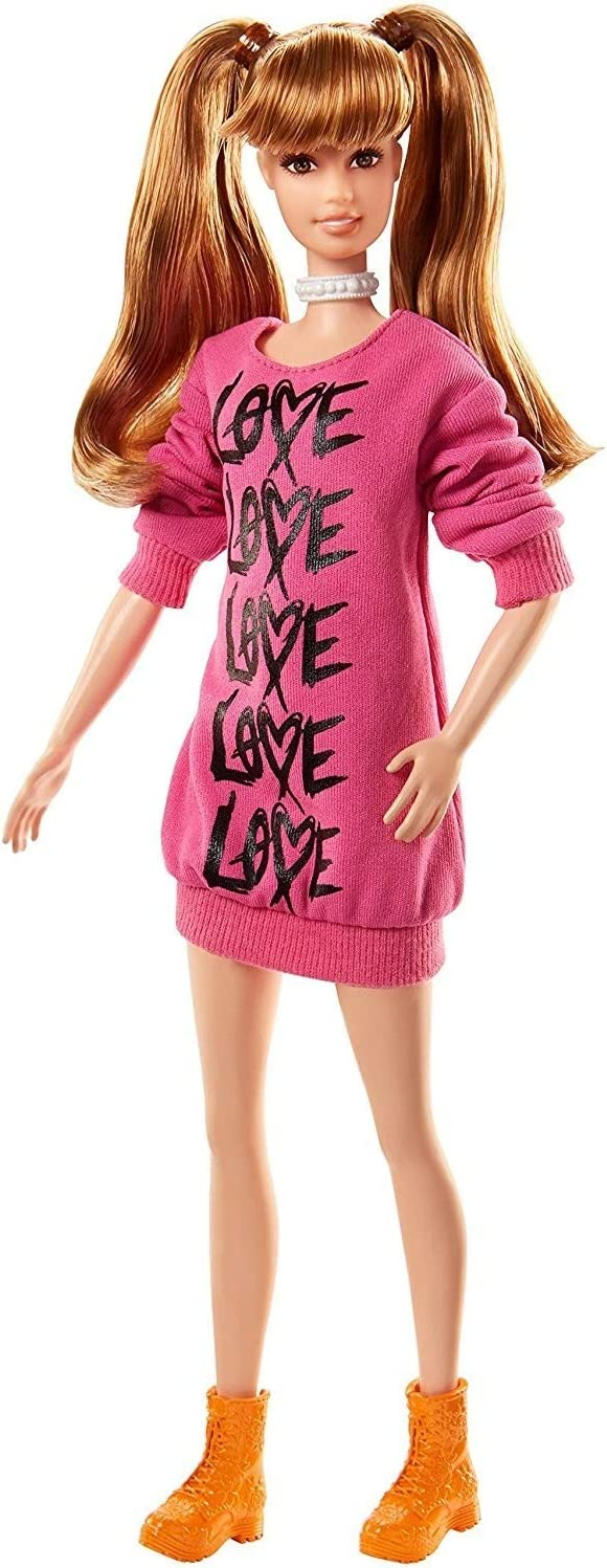 Barbie Fashionistas Dolls Your Don't miss the campaign Max 43% OFF Heart Wear
