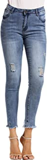Best distressed skinny jeans womens Reviews