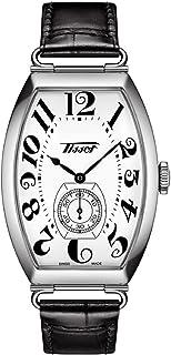 ساعة تيسوت للبالغين بورتو ميكانيكال رسمية ستانلس ستيل موديل T1285051601200، فضي