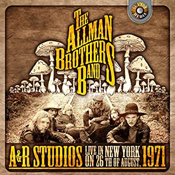 A & R Studios, Live in New York on 26th August 1971