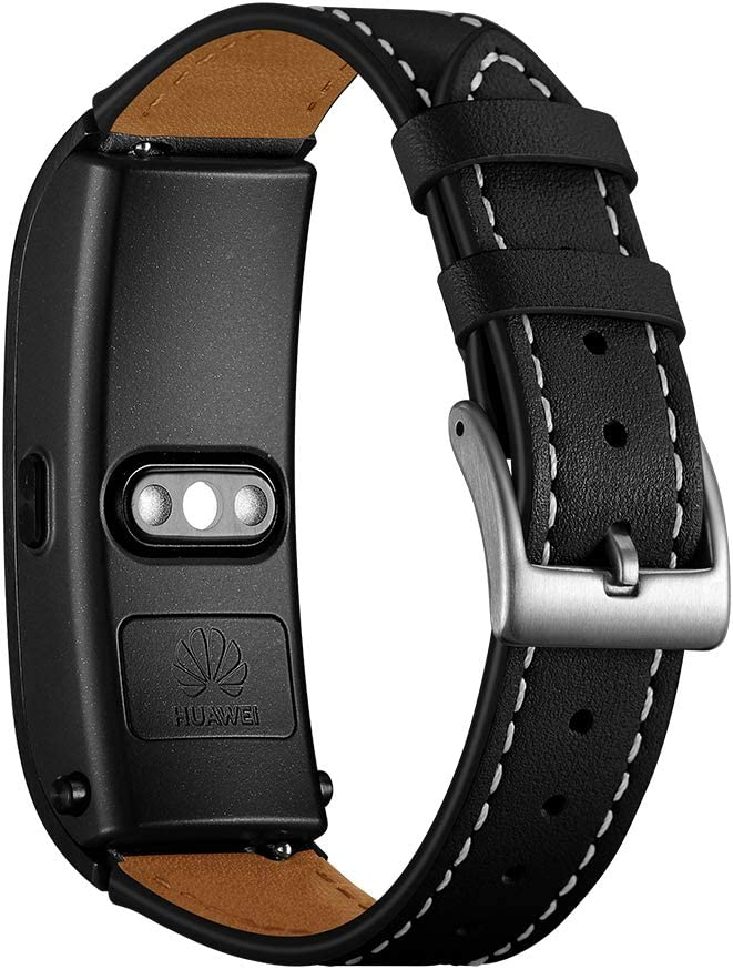 AISPORTS 18mm Quick cheap Release excellence Leather Band for Huawei Watch Talkba