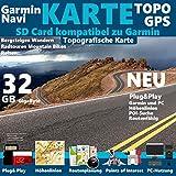 Kanarische Inseln Karte TOPO 32GB microSD. Topografische GPS Freizeitkarte für Fahrrad Wandern Touren Trekking Geocaching & Outdoor.für Garmin Navigationsgeräte, PC & MAC