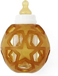 HEVEA 2in1 Baby Glass Bottle & Breakage Preventer (White)
