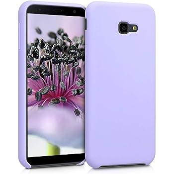 YSIMEE Compatibile Cover Samsung Galaxy J4 Plus 2018 Custodie Brillantini Glitter Diamante Specchio in TPU Silicone Antiurto Anti-Graffio Ultra Sottile Morbida Bumper Mirror Case con Anello,Argento