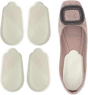 Dr. Foot's Orthopedic Medial & Lateral Heel Wedge Silicone Insoles for Supination & Pronation - O/X Type Leg Corrective Gel Adhesive Inserts - 2 Pairs (Beige)