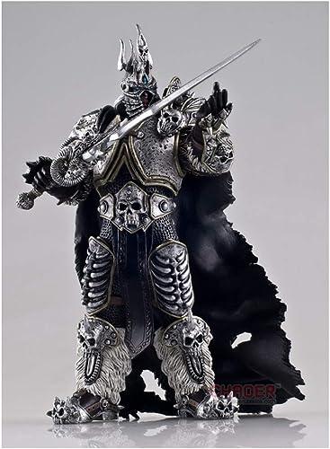HRSGJK Jouet Modèle World of Warcraft Roi Liche Alsace Jeu Décoration Souvenir Cadeaux Collection Artisanat Cadeaux De Vacances 17cm