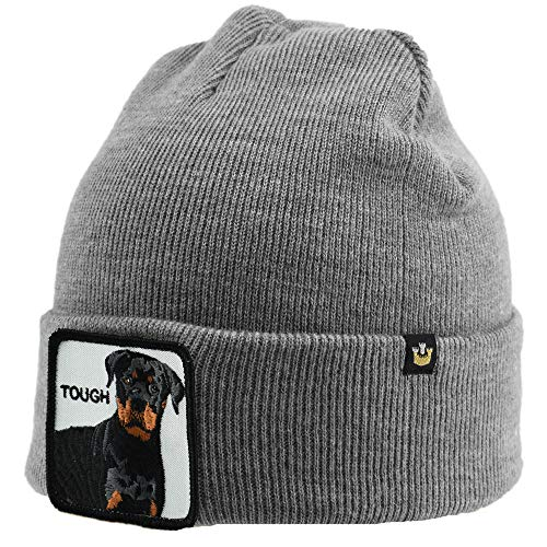 Goorin Bros - Gorro de invierno con diseño de animales grey tough...
