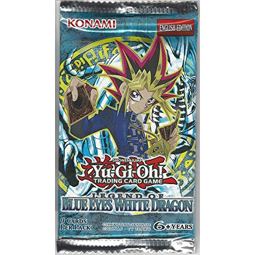 Konami YuGiOh Legend of Blue Eyes White Dragon Booster Pack [Unlimited Edition]
