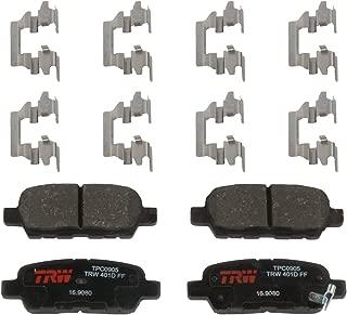 TRW Black Automotive TPC0905 Premium Disc Brake Pad Set