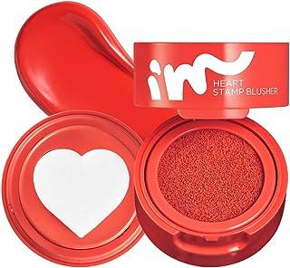 I'M MEME I'M Heart Stamp Blusher | Blendable Cushion Blush with a Matte Finish | Fun Makeup for Teens | 001...