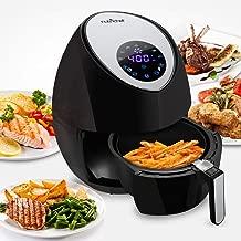 NutriChef Electric Hot Air Fryer Oven w/ Digital Display – Big 3.4 Qt Capacity..