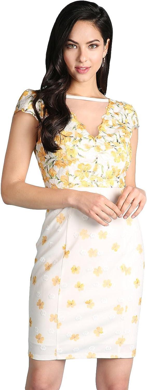 Nikibiki Floral Printed Lace Dress