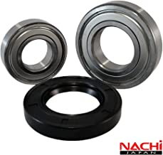Front Load Bearings Washer Tub Bearing and Seal Kit with Nachi bearings, Fits Kenmore and Electrolux Tub 134642100 (Includes a 5 year replacement warranty and link to our